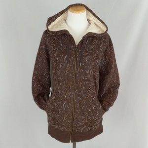 REI full zip hoodie jacket